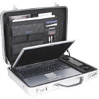 ALUMAXX Laptop-Attaché-Koffer MERCATO, Aluminiu...