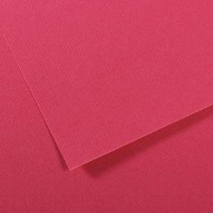 CANSON Künstlerpapier Mi-Teintes, 500 x 650 mm, himbeere 160 g/qm - 25 Stück (321734)