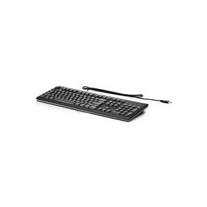 HP Classic Wired Keyboard - Englisch - Verkabelt - PC / Server - Standard - Schwarz - 460 x 150 x 30,5 mm (672647-DH3)