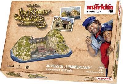 """Märklin Start up 72786 3D Puzzle """"Lummerland (72786)"""
