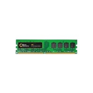 MicroMemory - DDR2 - 1 GB - DIMM 240-PIN - 667 MHz / PC2-5300 - ungepuffert - nicht-ECC - für HP Business Desktop dc7800, dc7900, dx2009, dx2710, HPE Compaq Business Desktop dc7700 (MMH9667/1024)
