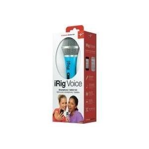 Mikrofone - IK Multimedia iRig Voice Mikrofon Blau  - Onlineshop JACOB Elektronik