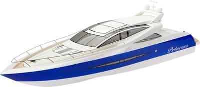 Amewi Yacht Princess - Blau - Weiß - Lithium Po...