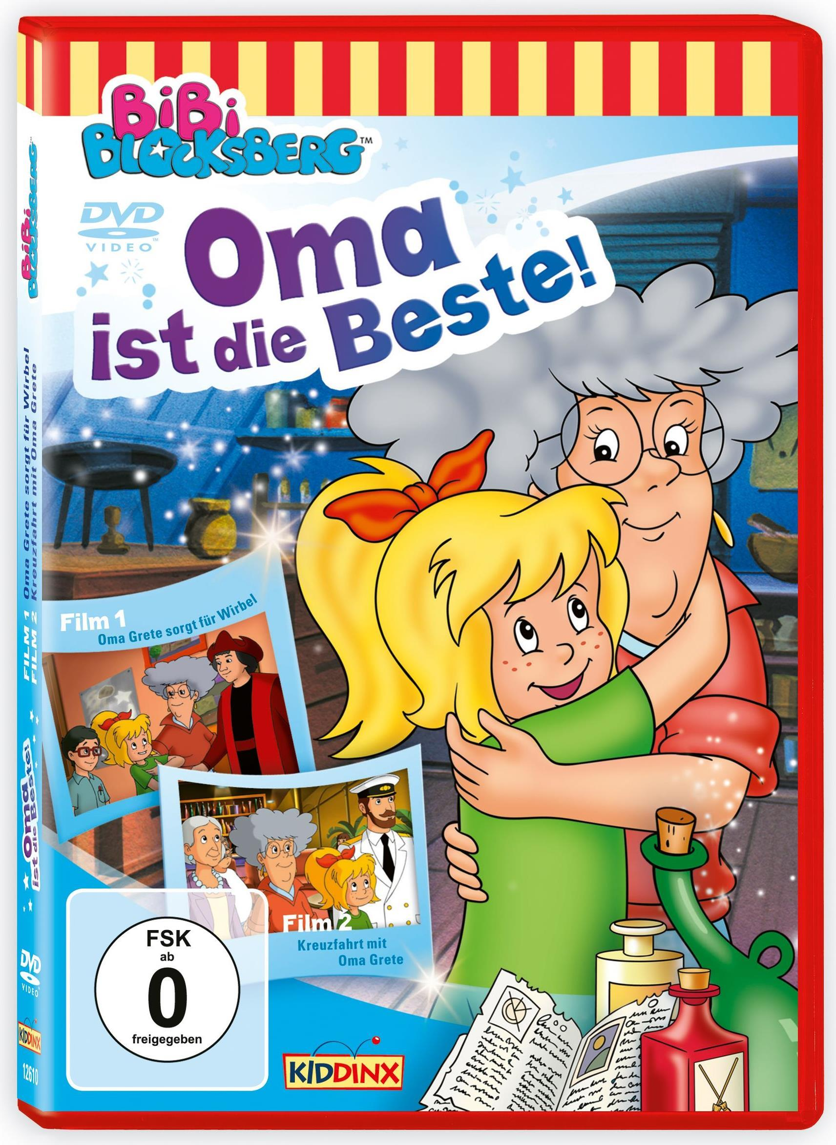 Kiddinx 12610 DVD 2D Deutsch Blu-Ray-/DVD-Film ...