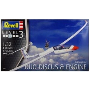 Revell Gliderplane Duo Discus & engine - 1:32 -...