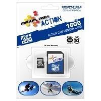 MaxFlash MS8GTFCL10M-R 8GB MicroSDHC Klasse 10 Speicherkarte (MS8GTFCL10M-R)