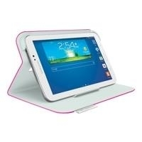 Logitech Folio Protective Case - Schutzhülle für Tablet Fantasy Pink Samsung Galaxy Tab 3 (7 ) (939-000758)