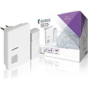 König SAS-WDB302 Wireless door bell kit Grau - Weiß Türklingel Kit (SAS-WDB302)