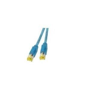 DRAKA Patchkabel Cat6a S/Ftp Blau 0,5m - broschei