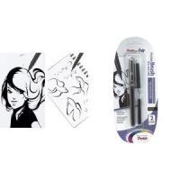 PentelArts Brush Pen Pinselstift inkl. 2 Nachfü...