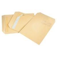 GPV Versandtaschen, 26, 275 x 365 mm, braun, ohne Fenster Gewicht: 120 g, mit Silikonstreifen, - 1 Stück (4146)