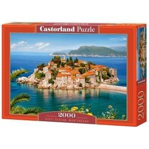 Castorland Sveti Stefan - Montenegro 2000 pcs -...
