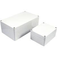 Axxatronic Installations-Gehäuse 300 x 230 111 Polycarbonat Grau 7200-2038 1 St. - broschei