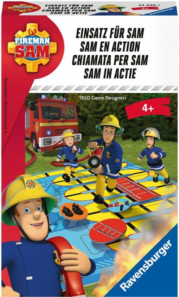 Ravensburger Feuerwehrmann Sam Wettlaufspiel - ...