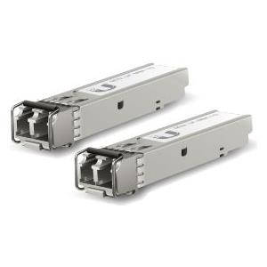 Ubiquiti U Fiber Multi-Mode - SFP (Mini-GBIC)-Transceiver-Modul - Gigabit Ethernet (Packung mit 2) (UF-MM-1G)