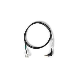 Sennheiser - Audiokabel - RJ-45 (M) - Stereostecker für Sub-Mini Telefon 2,5 mm (M) - 80cm - Winkelanschluss - für DW Pro2, DW Office PHONE, USB ML, DW Pro 2, DW Pro1, SD Office, Office ML, Pro 1, Pro 2 (506467)
