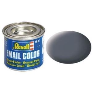 Revell Staubgrau - matt RAL 7012 14 ml-Dose Farbe Grau Kunstharz Emaillelackierung Zinn (32177)