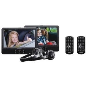 DVD Player, Blu Ray - Lenco Tragbarer DVD Player 22.5 cm 22,90cm (9) DVP 939 inkl. 12 V Kfz Anschlusskabel, mit integriertem DVD Player, inkl. zwei  - Onlineshop JACOB Elektronik