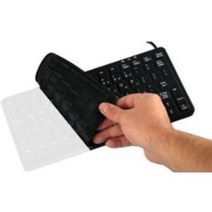 Active Key AK-C8100-B - USB Büro Membran-Schlüsselschalter QWERTZ Deutsch Kabellos (AK-C8100-B/GE)