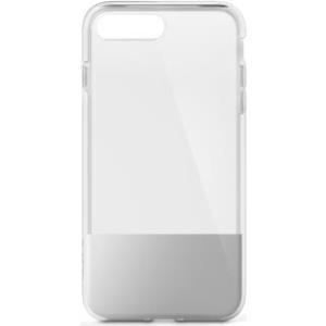 Belkin SheerForce - Hintere Abdeckung für Mobiltelefon - Silber - für Apple iPhone 7 Plus, 8 Plus (F8W852BTC01)