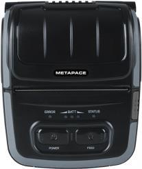 Metapace M-30i, USB, RS232, BT, 8 Punkte/mm (203dpi), schwarz Mobildrucker, Thermodirekt, 8 Punkte/mm (203dpi), Medienbreite (max): 80mm, Druckbreite (max.): 72mm, Rollendurchmesser (max.): 50mm, Geschwindigkeit (max.): 100mm/Sek., USB, RS232, Bluetooth, ESC/POS, RAM: 64MB, Flash: 32MB, inkl.: Netzteil, Netzkabel, Gürtelclip, Holster, Akku, 2600mAh, Reinigungsstift, Bonrolle, Treiber CD, QSG, Farbe: schwarz (M-30i)