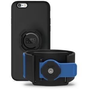 Taschen, Hüllen - Quad Lock QLK ARM IP6 47 Armbandbehälter Schwarz Blau Handy Schutzhülle (QLK ARM IP6)  - Onlineshop JACOB Elektronik