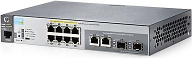 Hewlett-Packard HP 2530-8G-PoE+ Switch (J9774A) (Bild #2)