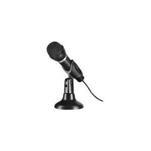 Speed-link SPEEDLINK SL-8703-BK CAPO Desk & Hand Microphone - Mikrofon Schwarz (SL-8703-BK)