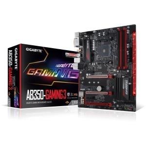 Mainboards - GigaByte GA AB350 Gaming Mainboard Sockel AM4 ATX HDMI, DVI, DDR4 (GA AB350 GAMING)  - Onlineshop JACOB Elektronik