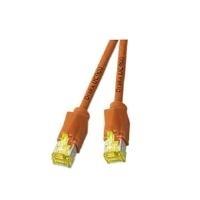 DRAKA Patchkabel Cat6a S/Ftp Orange0,5m - broschei