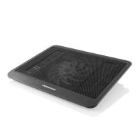 MODECOM SILENT FAN CF13 - Notebook-Kühlpad - 35.6 cm ( 35,60cm (14) ) - mit USB Anschluss