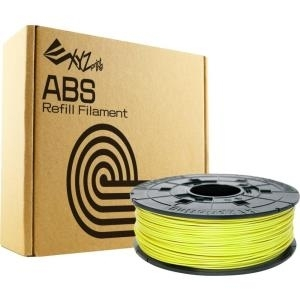 XYZprinting - Cyber yellow - 600 g - ABS-Filame...