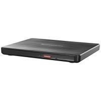 Lenovo Slim DVD Burner DB65 - Laufwerk - DVD+/-RW (+/-R DL) - 8x/8x - USB2.0 - extern - Schwarz - für 320-15, 320-15IKB Touch, 320-17, IdeaCentre 720-18, Miix 320-10, V510-14, Yoga 520-14 (888015471)