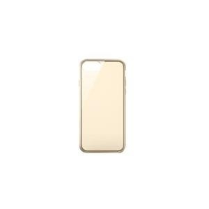 Belkin AIR PROTECT SheerForce - Hintere Abdeckung für Mobiltelefon - thermoplastisches Polyurethan - Gold - für Apple iPhone 7 Plus (F8W809BTC02)