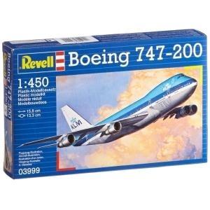 Revell Boeing 747-200 - 1:450 - Montagesatz - F...
