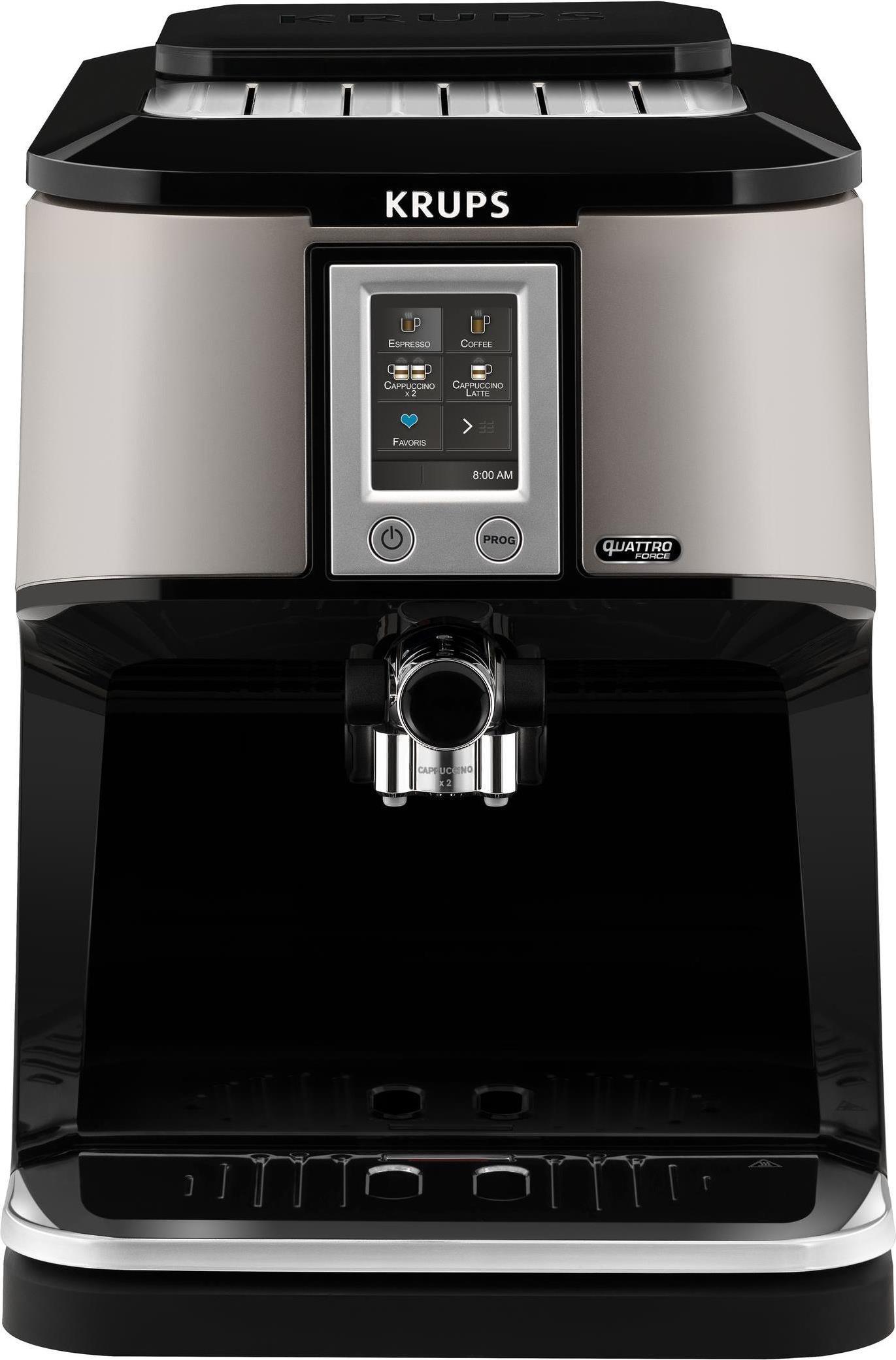 Kaffee, Tee - Krups EA880E Kaffeemaschine Freistehend Espressomaschine Silber 1,7 l 12 Tassen Vollautomatisch (EA 880E)  - Onlineshop JACOB Elektronik