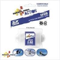Speicherkarten, Speichermedien - MAXFLASH Action Flash Speicherkarte 16 GB Class 10 microSDHC  - Onlineshop JACOB Elektronik