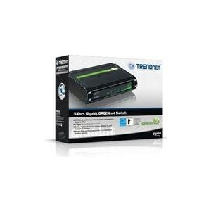 TRENDnet TEG S5g - Switch 5 x 10/100/1000 Desktop (TEG-S5G) - broschei