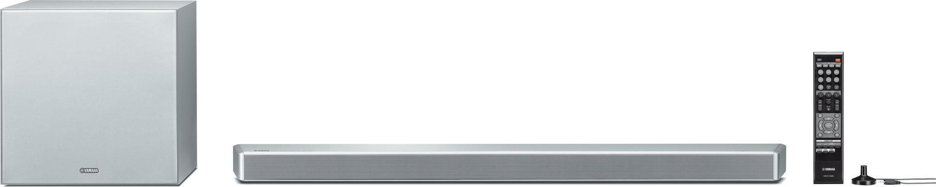 Heimkino Systeme - Yamaha MusicCast YSP 2700 7.1 Kanäle 107 W DTS,DTS 96 24,DTS Neo 6,DTS ES,DTS HD HR,DTS HD Master Audio,Dolby Digital,Dolby Digital EX,Dolby... 24 W 14 cm 75 W (YSP 2700T)  - Onlineshop JACOB Elektronik