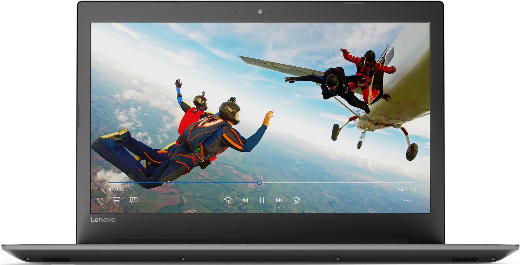 Notebooks, Laptops - Lenovo 320 17IKB 80XM Pentium 4415U 2.3 GHz FreeDOS 4 GB RAM 128 GB SSD 43.9 cm (17.3) TN 1600 x 900 (HD ) HD Graphics 610 Wi Fi, Bluetooth Onyx Black  - Onlineshop JACOB Elektronik