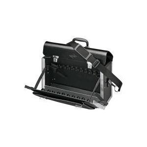 Knipex Werkzeugtasche New Classic Basic leer 00 21 02 LE Abmessungen: (B x H x T) 420 x 250 x 160 mm HDPE Kunststoff (00 21 02 LE)