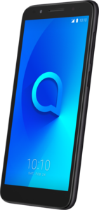 Alcatel 1X - Smartphone Dual-SIM 4G LTE 16 GB microSDHC slot GSM 5.3 960 x 480 Pixel IPS RAM 1 8 MP (5 Vorderkamera) Android dark gray suede (5059D-2AALWE1)