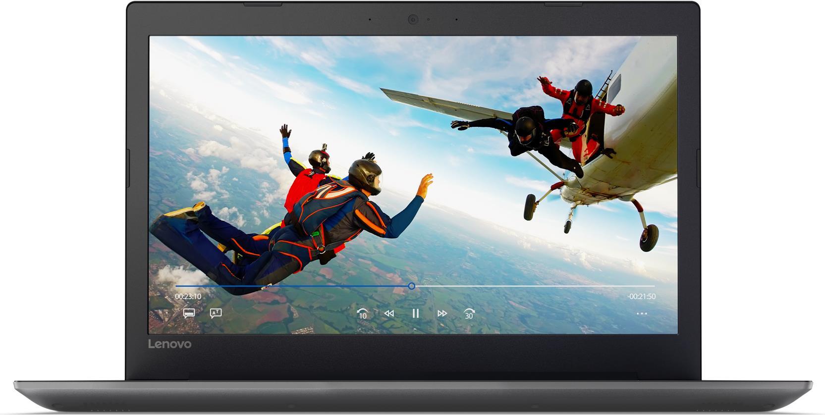 Notebooks, Laptops - Lenovo IdeaPad 320 15AST 3GHz A9 9420 15.6' 1366 x 768Pixel Schwarz Grau Notebook (80XV00XAGE)  - Onlineshop JACOB Elektronik