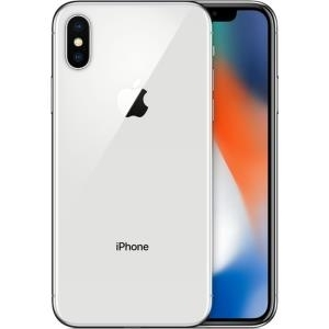 Apple iPhone X, 64 GB, Silber - 4G LTE Advanced...
