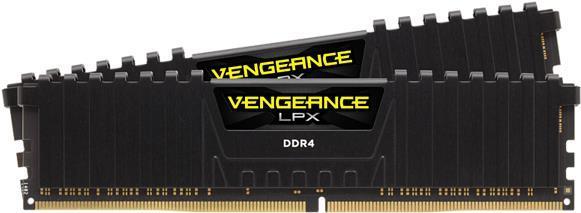 Arbeitsspeicher - Corsair Vengeance LPX DDR4 16 GB 2 x 8 GB DIMM 288 PIN 3600 MHz PC4 28800 CL18 1.35 V ungepuffert non ECC Schwarz (CMK16GX4M2Z3600C18)  - Onlineshop JACOB Elektronik
