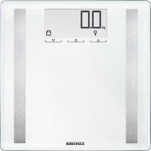 Soehnle Shape Sense Control 200 Elektronische Personenwaage Quadratisch Weiß (63858)