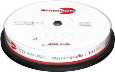 Primeon 2761111 CD-R 700MB 10Stück(e) CD-Rohlin...