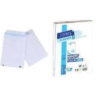 GPV Versandtaschen, C4, 229 x 324 mm, weiß, ohne Fenster Gewicht: 90 g, Haftklebung mit Abdeckstreifen - 1 Stück (537)