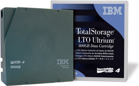 IBM Media Tape Ultrium LTO4 800/1.6 TB (95P4436) (Bild #1)