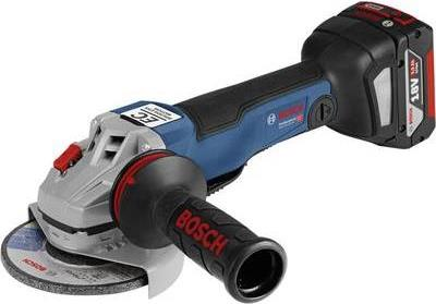 Werkzeuge - Bosch Professional Akku Winkelschleifer 125 mm inkl. 2. Akku, inkl. Koffer 18 V 5 Ah GWS 18V 125 PC 06019G3E01 (06019G3E01)  - Onlineshop JACOB Elektronik